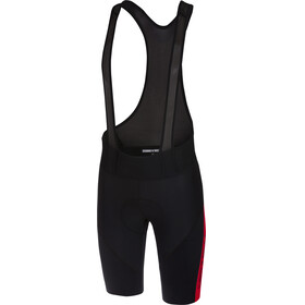 Castelli Velocissimo IV Bib Shorts Men red/black